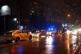 На вулиці Героїв Майдану в Чернівцях сталась ДТП за участю авто патрульної поліції