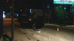 Стали відомі подробиці ДТП у Чернівцях, в яку потрапив автомобіль спецпідрозділу