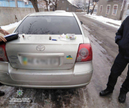 У Чернівцях затримали водія, який керував автівкою «під кайфом»