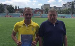 Тренер Буковини отримав диплом УЄФА (фото)