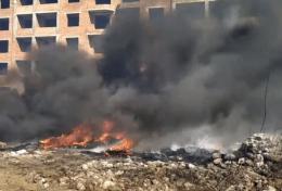 На Буковині через спалювання трави ледь не вибухнула АЗС (відео)