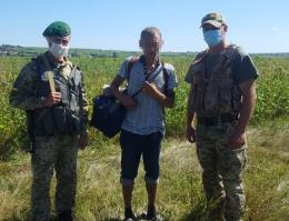 На Буковині прикордонники затримали іноземця, який намагався незаконно перетнути кордон