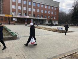 У Чернівцях завершили ремонт майданчика біля дитячої поліклініки