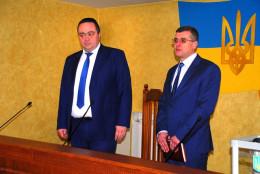 Прокурор Буковини Олег Соболь та новий заступник Олександр Воронін