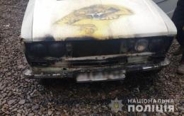 У Чернівцях невідомий підпалив легкове авто