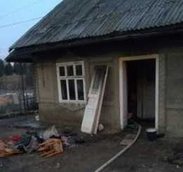 В Маршинцях в жахливій пожежі 27-річний чоловік отримав важкі опіки