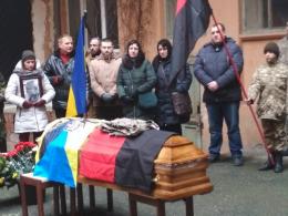 У Чернівцях попрощалися з бійцем АТО, який загинув під час пожежі (фото)