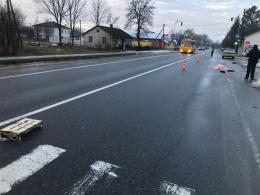 На Буковині автівка збила на смерть жінку (фото)