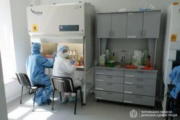 У Чернівцях відремонтували лабораторію, у якій роблять ПЛР-тестування на коронавірус (фото)