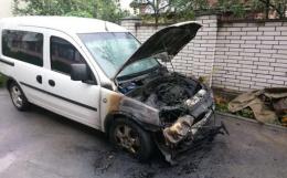 У поліції розповіли подробиці розслідування ймовірного підпалу автомобіля Обшанського