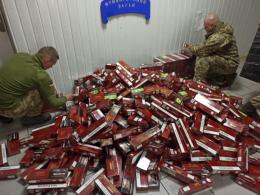 На Буковині прикордонники вилучили чергову партію контрабандних цигарок (фото)