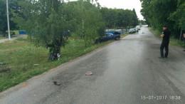 """На Буковині """"Жигулі"""" врізався в мотоцикл, від удару """"двоколісний"""" відкинуло на дерево, є загиблі"""