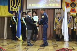 На Буковині нагородили кращих рятувальників (фото)