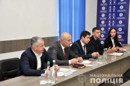 Керівництво чернівецької поліції провело зустріч з представниками Консультативної Місії Євросоюзу (фото)