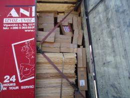 Серед вантажу «шпон лущений» було виявлено коробки з сигаретами