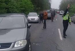 У Чернівцях сталася ДТП за участі 4-х авто