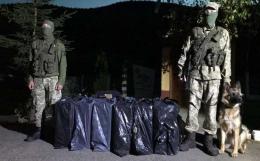 На Буковині контрабандисти намагалися перемістити через кордон партію цигарок (фото)