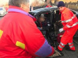 У Мамаївцях зіткнулись два автомобілі, є постраждалі