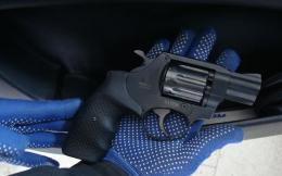 На кордоні Молодовою прикордонники Буковини виявили револьвер