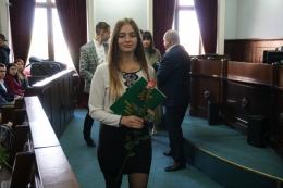 До Всесвітнього дня студента у Чернівецькій міській раді нагородили кращих студентів Чернівців