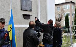 На Буковині в гімназії відкрили меморіальну дошку Герою АТО (фото)
