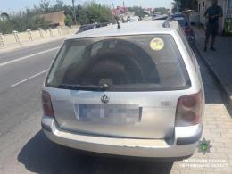 """На Буковині патрульні виявили водія """"Фольксванена"""" з арсеналом зброї в авто (фото)"""