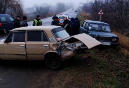 На Буковині зіткнулися три автомобілі (фото)