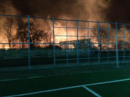 На вулиці Південно-Кільцевій у Чернівцях сталася масштабна пожежа