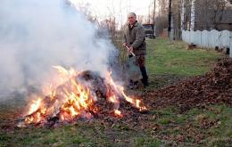 20% пожеж у Чернівцях виникло внаслідок горіння сухої трави
