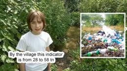 Юний винахідник з Буковини знайшов спосіб латати ями на дорогах пластиком (відео)