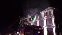 Стали відомі деталі масштабної пожежі у ресторані в Новоселиці (фото)