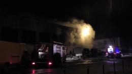 З'явилися подробиці пожежі ангару на Зеленій