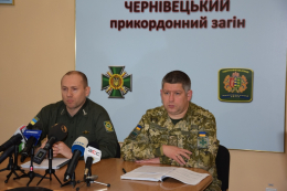 Начальник Чернівецького прикордонного загону Олег Вовк