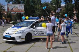 У Чернівцях підрозділи буковинської поліції організували виставку на честь свого професійного свята (фото)