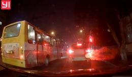 У Чернівцях оштрафували водія маршрутки, який проїхав на «червоне» (відео)