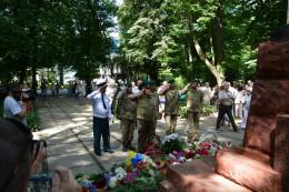 Чернівчани вшанували загиблих у Другій світовій війні