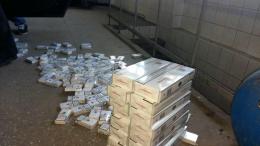 """На Буковині затримали """"Ауді"""" з контрабандними цигарками (фото)"""