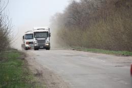 На автошляхах Буковини заборонять курсувати великогабаритному транспорту