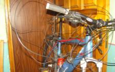 У Чернівцях невідомі перегородили дротом дорогу в парку: постраждав велосипедист (фото)