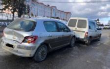 На Сторожинеччині зіткнулися три автівки (фото)