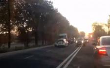 На Буковині мікроавтобус збив на смерть жінку (відео)