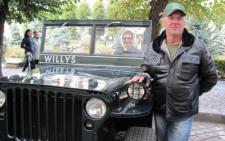 Чернівчанин відновив американський військовий автомобіль 1943 року