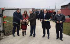 На Буковині відкрили першу чергу водогону в Кельменцях (фото)
