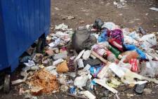 У Чернівцях за парканом дитсадка утворилось стихійне сміттєзвалище (фото)