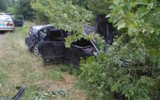 """На Буковині """"Volkswagen Passat» з'їхав у кювет та втік з місця ДТП"""