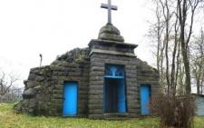Склеп, що нагадує мавзолей (Вашківці, Сокирянський район)