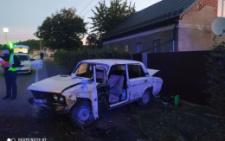 """На Буковині через зіткнення з """"Honda"""" перекинувся ВАЗ , є постраждалі"""