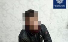 У Чернівцях патрульні затримали п'яного чоловіка