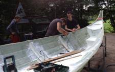 На Буковині майстри з Німеччини та Данії збудують човни вікінгів (фото)