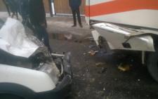 У Кам'янці рейсовий автобус зіштовхнувся з автомобілем Ford, є постраждалі (фото)